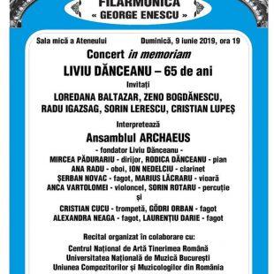 """(Română) ANSAMBLUL ARCHAEUS, CONCERT """"IN MEMORIAM LIVIU DANCEANU"""" LA ATENEUL ROMAN"""
