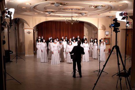 Concert on line al Corului de Cameră Preludiu dirijat de Voicu Enăchescu