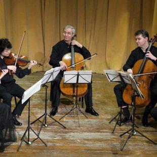 Cvartetul Arcadia la Sala Mare a Palatului Tinerimea Română 2017