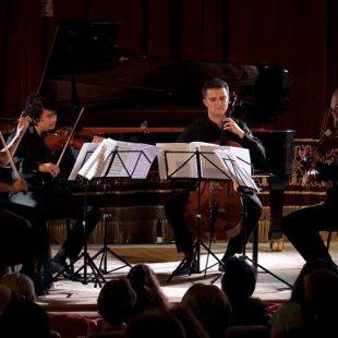 """Cvartetul Arcadia  în cadrul Festivalului Internațional """"Enescu și Muzica Lumii"""""""