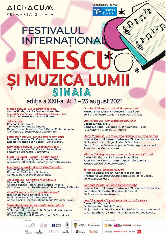 Festival Enescu Sinaia 2021
