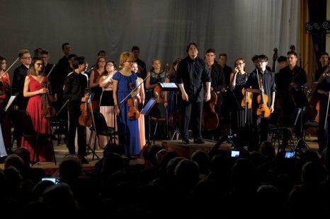 "Orchestra Junior la Festivalul ""Enescu și Muzica lumii"" de la Sinaia"