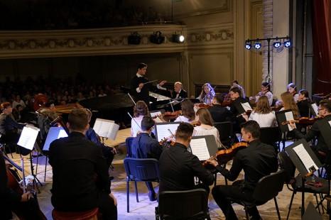 """Orchestra Junior in concert la FESTIVALUL INTERNAȚIONAL """"ENESCU ȘI MUZICA LUMII"""" 2016"""