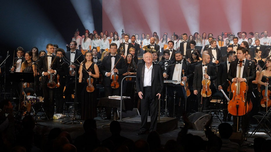 Vladimir Cosma – 50 de ani de muzică de film – triumf al Orchestrei Române de Tineret la Paris