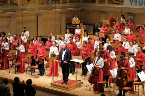 Orchestra Română de Tineret – patru festivaluri într-o săptămână