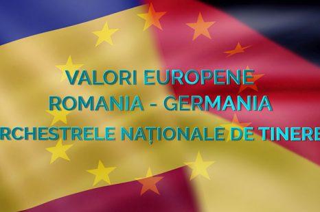 (Română) Valori europene România  – Germania. Orchestrele Naţionale de Tineret