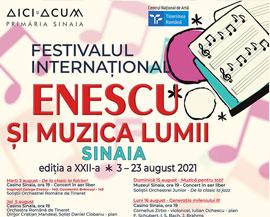 Festivalul Enescu Sinaia 2021